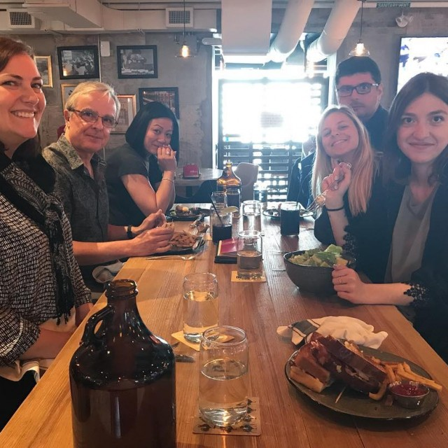 Team lunch to welcome Marie our new Office ManagerAccount Coordintor!